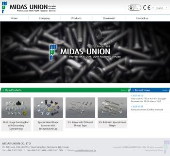 邁達斯興業股份有限公司 企業響應式網站設計